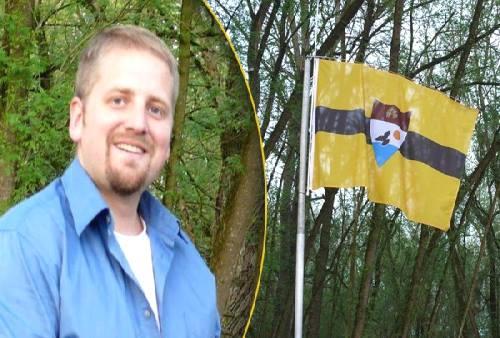 Präsident von Liberland auf Bundesparteitag