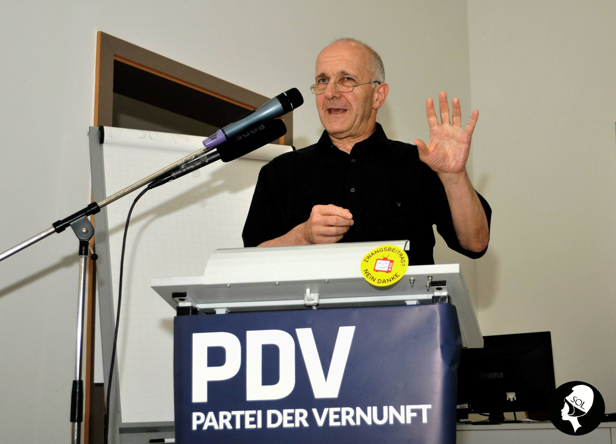 Prof. Dr. David Dürr auf dem BPT