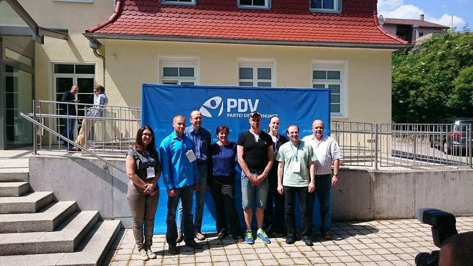 Der Geist von Schloss Flehingen: Bundesparteitag der PDV