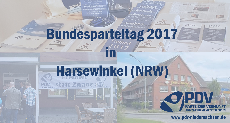 Bundesparteitag 2017